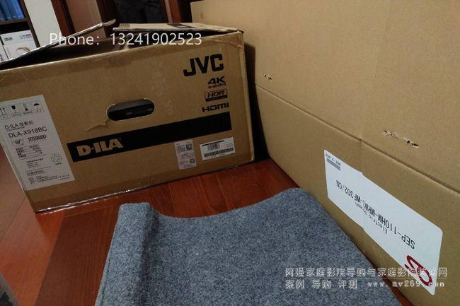 4K JVC投影机和4K OS幕布