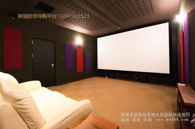 侧重视频影像体验的4K家庭影院系统案例