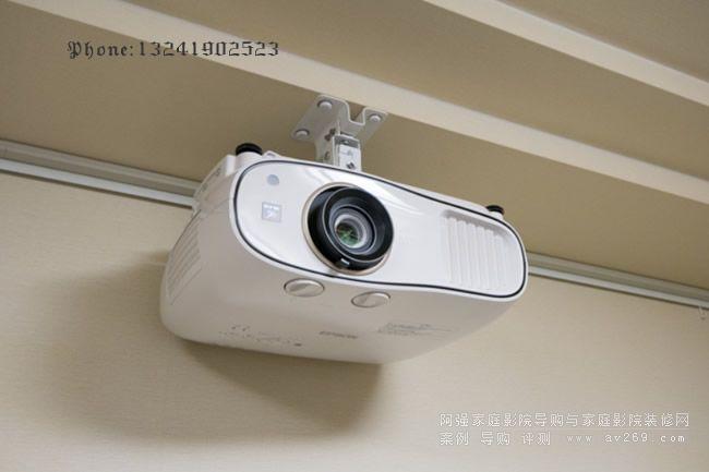 爱普生TW6700W无线投影机安装