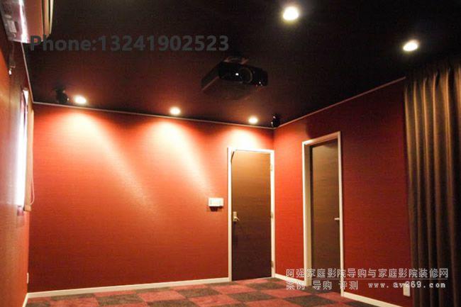 索尼投影机家庭影院案例