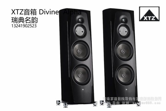 XTZ Divine Alpha落地音箱HIFI音箱