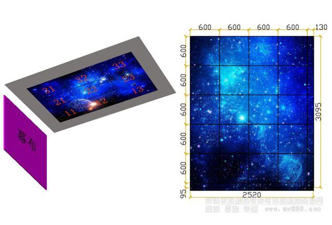 光纤星空顶模块 星光顶快装模块安装方案介绍