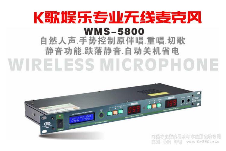 Gutin WMS5800 专业无线麦克风