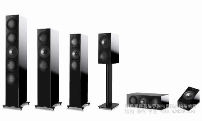 KEF全新升级版R系列扬声器