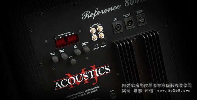 英国MJ Acoustics低音炮