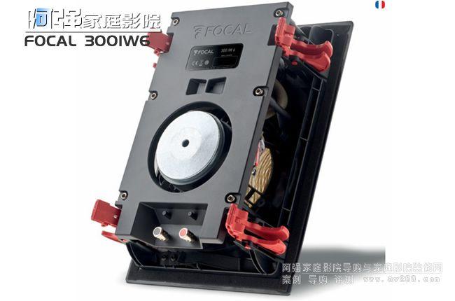劲浪音箱 Focus 300IW6方形嵌入音箱