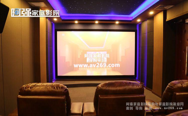小米影业家庭影院装修案例