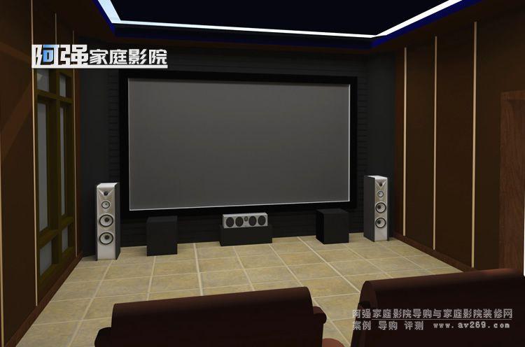 2018年十佳家庭影院装修设计案例效果图参考一