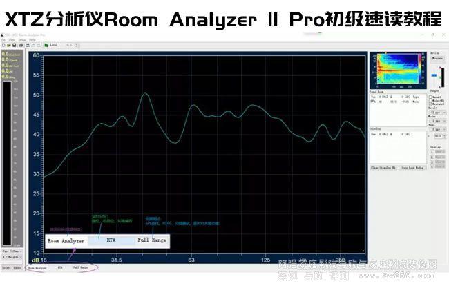 用XTZ Room Analyzer II Pro初级使用教程