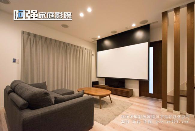 客厅影院设计案例 客厅影院效果图解析