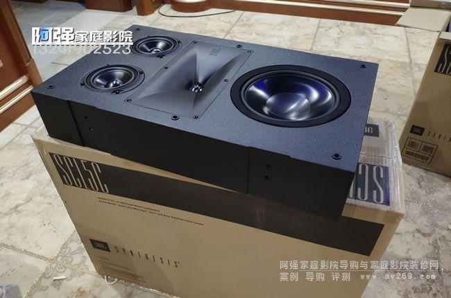JBL SCL5C 定制嵌入式音箱开箱安装