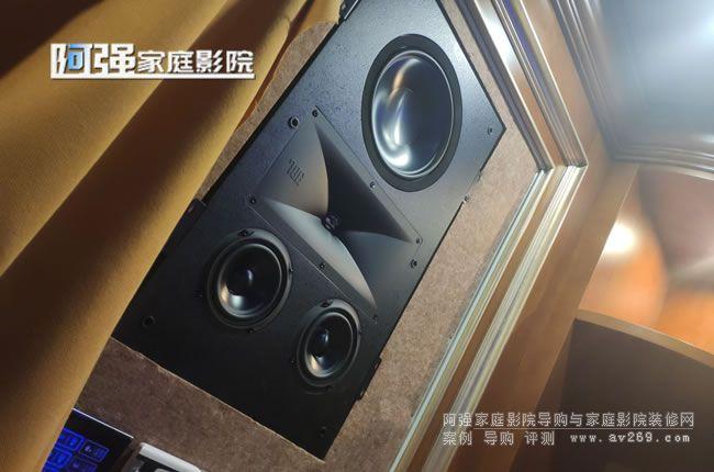 JBL极品音箱安装