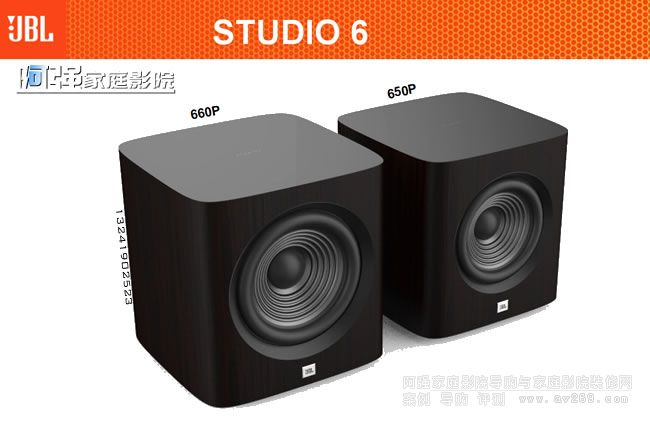 JBL超低音炮Studio650P Studio660P介绍