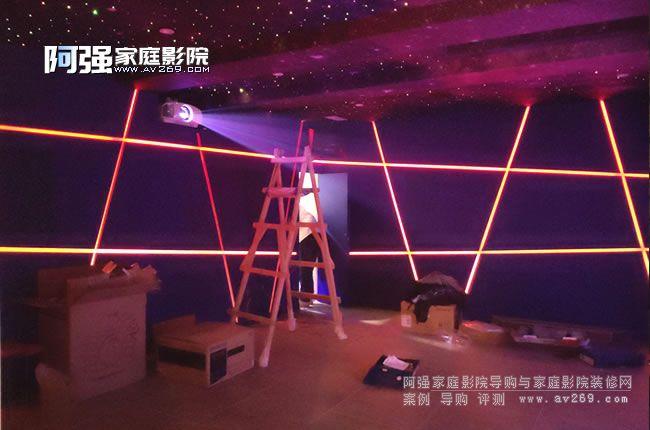 北京龙湾别墅家庭影院装修抢先看