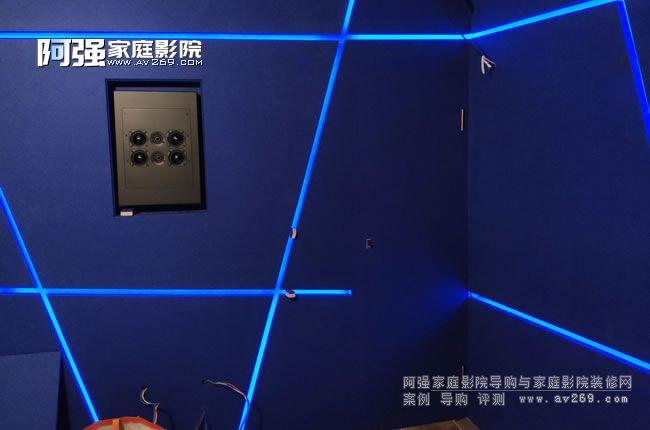 嵌入音箱和隐形门
