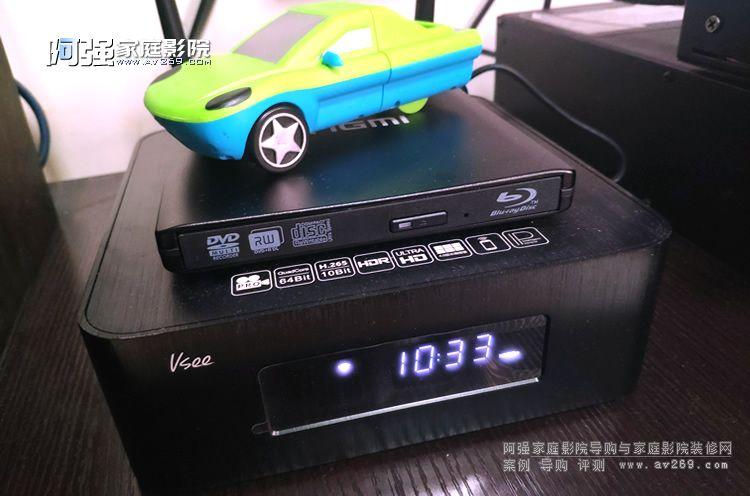 Vsee UH600突破 让高清硬盘播放机也可以用BD蓝光碟片!