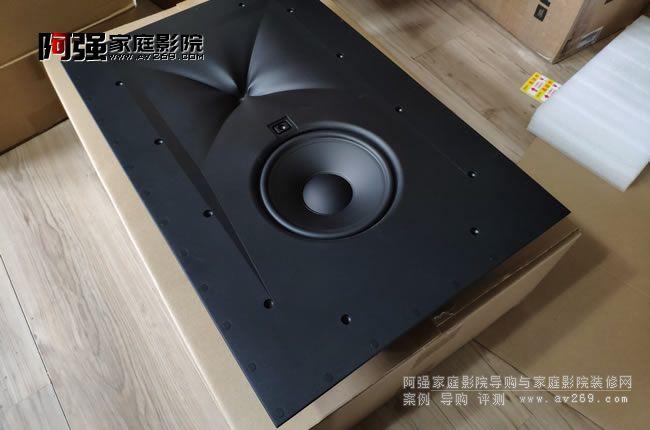 JBL SCL4 嵌入式极品音箱开箱安装