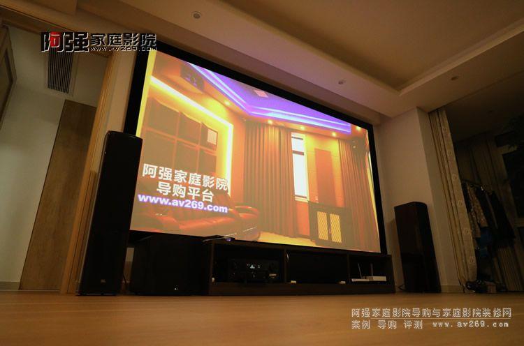 美国JBL音箱组建的客厅影院案例