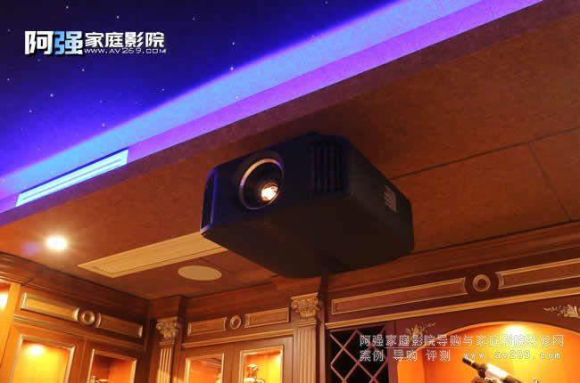 JVC新款投影机DLA-N8BC真实案例应用 开启4K智能时代