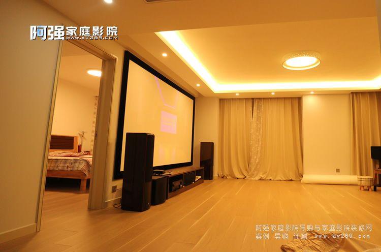 客厅家庭影院设计