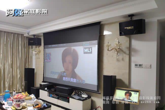 南京客厅家庭影院真实案例分享 适用于大多数客厅空间
