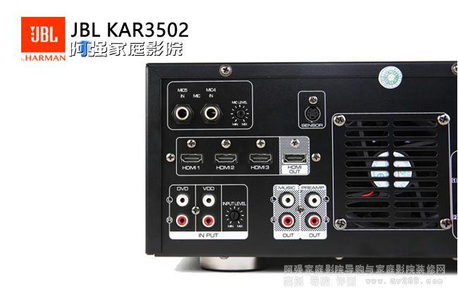JBL KAR3502 卡拉OK娱乐合并式功放