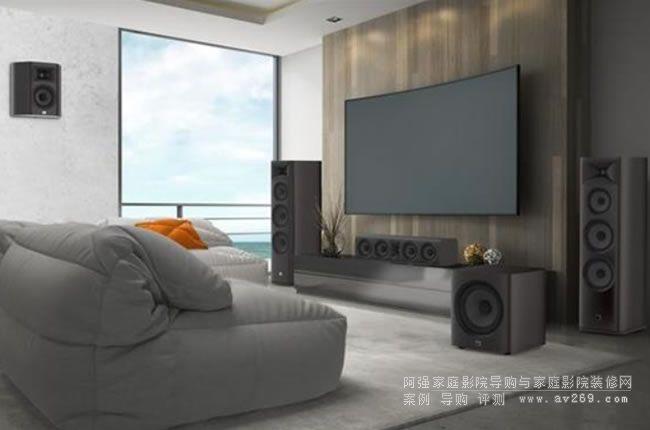 震撼音效美国JBL音箱STUDIO 6 家庭影院音箱全新上市