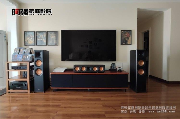 新产品新体验 杰士音箱RP-8000F和天龙功放8500H