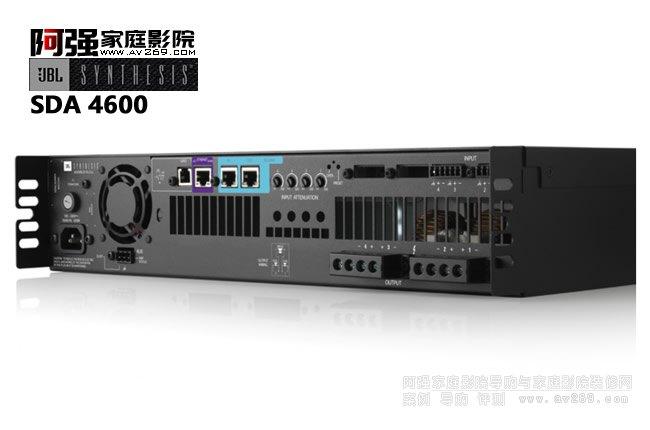 JBL SDA4600后级功放 4声道600W