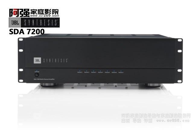 JBL SDA7200后级功放 7声道200W