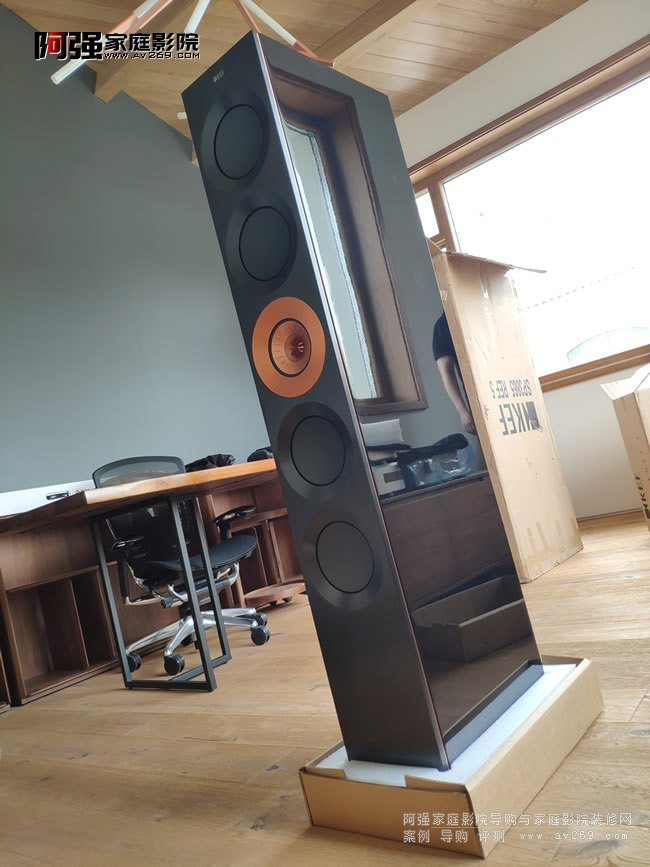 KEF Reference5开箱