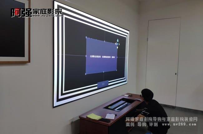 海信激光电视安装调试