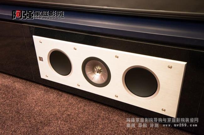 KEF Ci3160RL-THX音箱特写