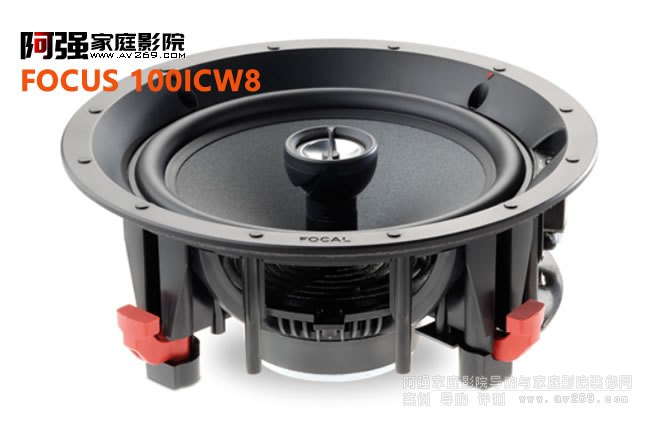 劲浪8寸吸顶音箱100 ICW8介绍