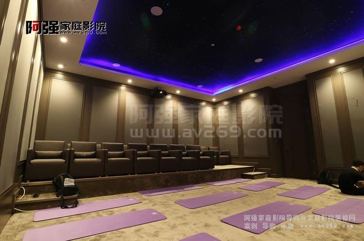 北京家庭影院装修案例