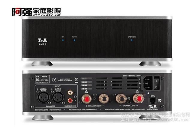 小身材大功率 T+A AMP8立体声功放